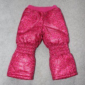 Sung Eun 3T-4T Waterproof Fleece Lined Snow Pants
